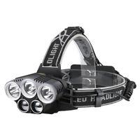 Rechargeable Headlamp LED Fishing Flashlight Torch Head Light Hunting Headlight