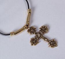Religiöse Modeschmuck-Halsketten & -Anhänger aus Kristall Kreuz