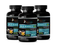 anti inflammatory foods - VIRGIN BLACK SEED OIL - stop bloating supplement 3BOTT