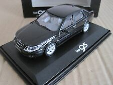 MOTORART SAAB 9-5 SALOON 2006-2009 in BLACK 1/43 MODEL CAR