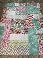 Pottery Barn Teen Sunset Beach Twin quilt + Sham