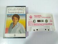 Jose Luis Perales Amaneciendo en ti Hispavox 1984 - Cinta Cassette