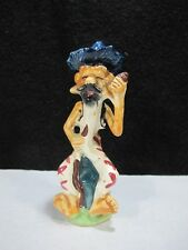 """VINTAGE TWIN WINTON STYLE POTTERY HILLBILLY 6 1/2"""" Tall Very RARE & NICE !"""