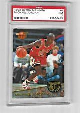 1992-93 ULTRA ALL-NBA #4 MICHAEL JORDAN PSA 7 NM