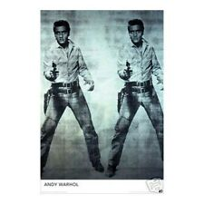 Andy Warhol Elvis Wall Poster Art 24x36 Free Shipping