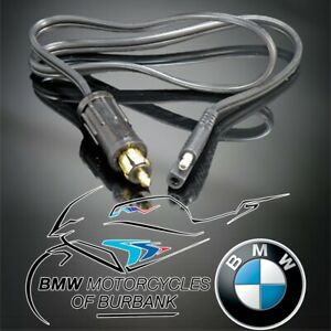 Auxiliary Socket Adapter Cable Genuine BMW Motorrad Motorcycle