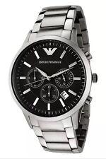 New Men's Emporio Armani AR2434 Luxury Watch Stainless Steel Quartz