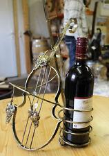 !TOP NEU 1-er Schmideeisen Geige Weinregal für 6 Flaschen Flaschenregal Regal !!