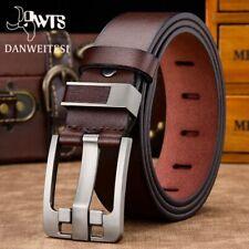 2020 Men Genuine Leather Belt Strap Luxury Pin Buckle Fancy Jeans Vintage Bets