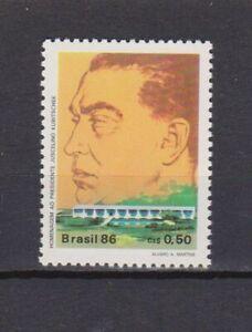 S19189) Brasil Brazil 1986 MNH New De Oliveira 1v