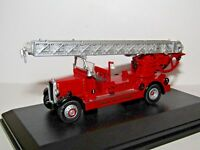 OXFORD DIECAST LEYLAND TLM FIRE ENGINE LONDON FIRE BRIGADE 1/76 TLM001
