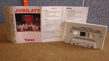 TAIZEE cassette tape Jubilate chants 1991 Jacques Berthier liturgical music