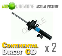 2 x CONTINENTAL DIRECT FRONT SHOCK ABSORBERS SHOCKERS STRUTS OE QUALITY GS3034FL
