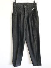VTG Size 12 Runs Small Cherokee 90's Pleat Front Tapered Leg Mom Jeans Black