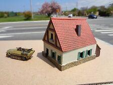 Flames Of War German Rhineland House building resin painted Terrain 15mm ww2