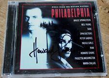 PHILADELPHIA  CD SOUNDTRACK SIGNED BY HOWARD SHORE PROMO