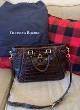 Dooney & Bourke Croco Fino Belted Shopper
