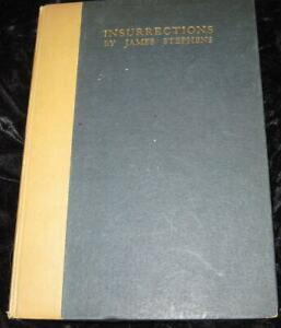 INSURRECTIONS. by James Stephens-Interesting, readable poems by Irish poet 1917