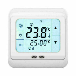For Water&Electric Heating Systems Part Touch Screen floor underfloor thermostat