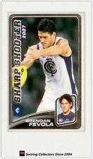 2008 AFL Herald Sun Trading Cards Sharp Shooters SS3: B. Fevola (Carlton)