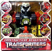 NEW TRANSFORMERS CONSTRUCTICON DEVASTATOR REVENGE OF THE FALLEN ROTF
