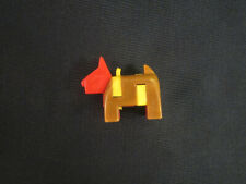 Vintage Keychain Puzzle - Dog - Scotty?