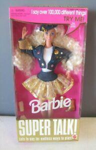 1995 Mattel Super Talk! Barbie NRFB Item 14308 Lot#F19