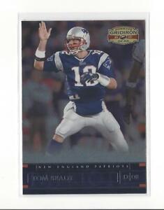 2007 Donruss Gridiron Gear #57 Tom Brady Patriots