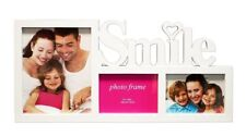 Family Collage Photo Picture Frame with 3 openings
