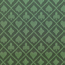 PRO Suited Speed Cloth for Poker Tables - Two-Tone Green (9ft)