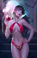 VENGEANCE OF VAMPIRELLA #1 ULA MOS VIRGIN VARIANT LIMITED TO 500 COPIES