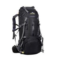 40/50L Outdoor Hiking Backpack  Bag Camping Travel Waterproof Pack Mountaineerin