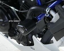 Yamaha MT 25 2015 R&G Racing Aero Crash Protectors CP0406BL Black