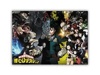 Poster Boku No Hero Academia BNHA Anime