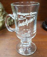 Vintage Häagen-Dazs Cream Liqueur Glass Pedestal Mug