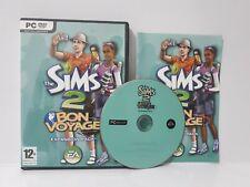 The Sims 2 Bon Voyage (PC, 2007) Region Free Complete Disc Mint Expansion J1L