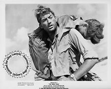 Gregory Peck, Lyndon Brook still THE PURPLE PLAIN (1955) original studio SHARP!