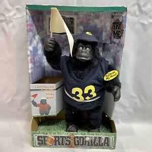 New Vintage Gemmy 1998 Dancing Junior the College Sports Gorilla, Rock & Roll