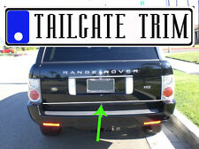 Chrome Tailgate Trunk Molding Trim - Land Rover