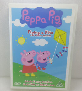 Peppa Pig - Flying A Kite And Other Stories--PLUS 2 FUN INTERACTIVE GAMES