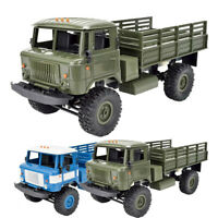 WPL B-24 GAZ-66 1/16 Remote Control Military Truck 4-Wheel Drive Off-Road RC Car