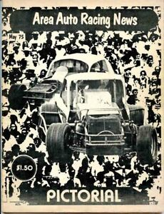 MAY 1975 AREA AUTO RACING NEWS PICTORIAL