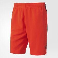 ADIDAS ORIGINALS SUPERSTAR Pantalones Cortos Hombre Rojo Verano Playa Vacaciones