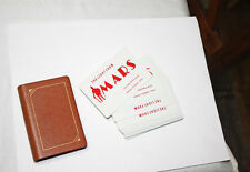 1970s Vintage Advertising Playing Cards Mars Signal Light Firefighter Police