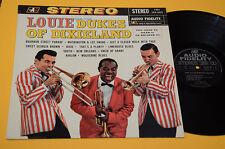 LOUIS ARMSTRONG LP LOUIE AND DUKES ORIG OLANDA AUDIO FIDELITY TOP EX ! AUDIOFILI