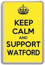 KEEP CALM AND SUPPORT WATFORD, FOOTBALL TEAM Fridge Magnet