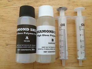 DIAMOND SHEEN 2 Part Fishing Rod Varnish / Epoxy (60ml)
