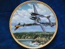"""""""FORK TAILED DEVIL""""COLLECTOR PLATE ~WWII AMERICAN POWER PLATE COLLECTION"""