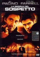 Dvd LA REGOLA DEL SOSPETTO - (2003) *** Al Pacino *** ......NUOVO