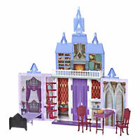Disney Frozen Fold and Go Arendelle Castle Playset, Portable Play, Official Toy